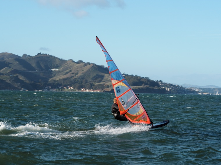 Windsurfing in San Francisco