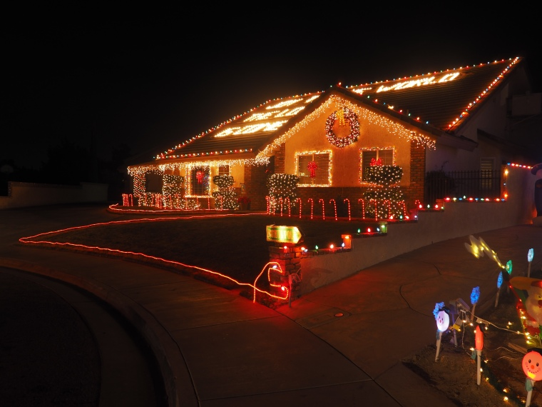 Candy Cane Lane Lancaster CA